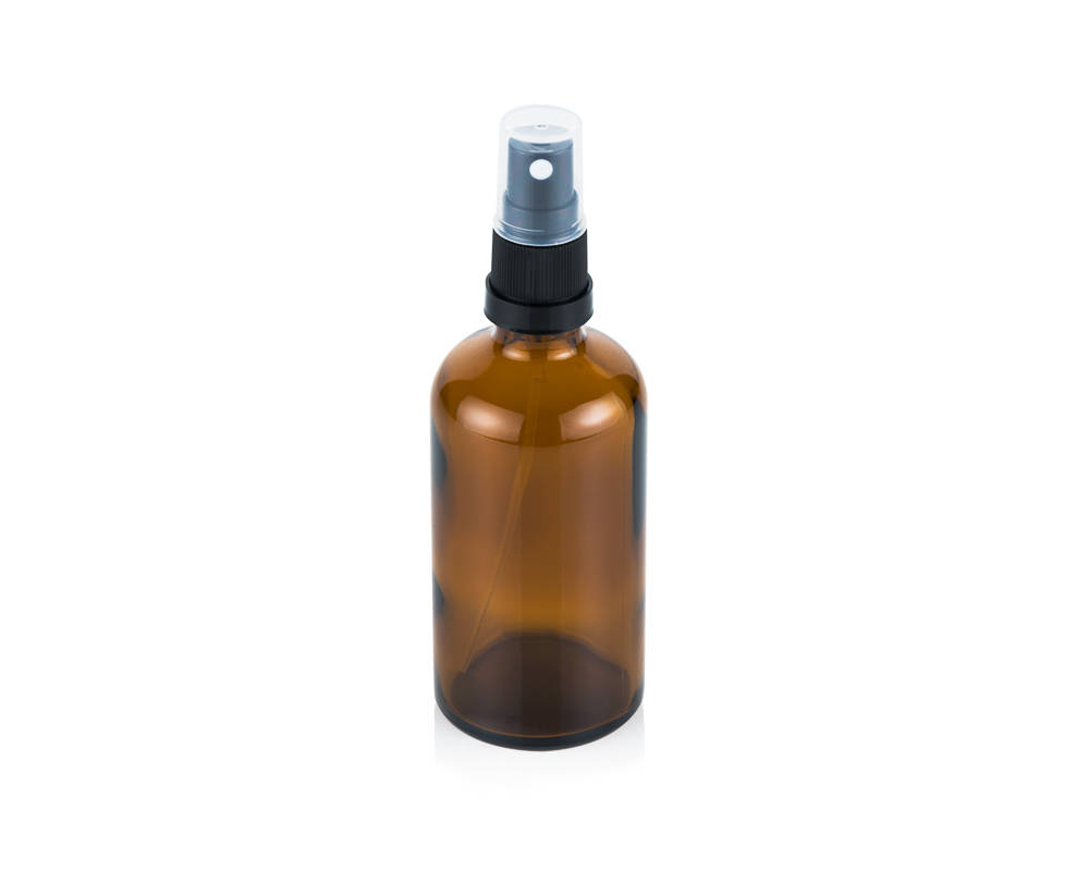Glass bottle with spray top 100ml