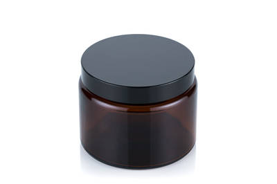 Wide-mouth glass jar 500ml