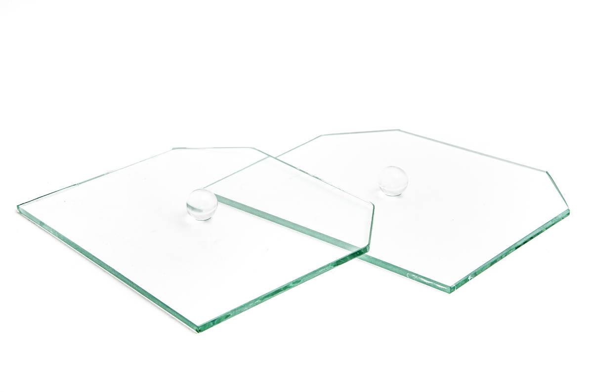Szklane pokrywy do wypiekacza do chleba Sana Smart