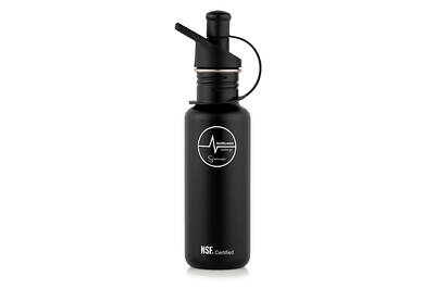 Sana stainless steel bottle black